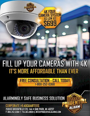 4K Camera System as low as $699.00 - Fill up your cameras with 4K - It's more affordable than ever!