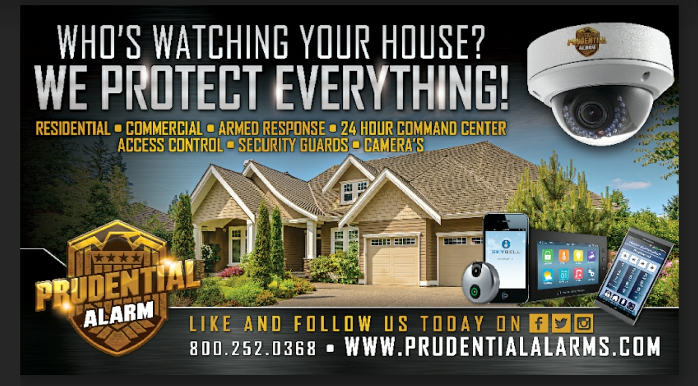 Who's Watching Your House? WE PROTECT EVERYTHING! Residential - Commercial - Armed Response - 24 Hour Command Center - Access Control - Security Guards - Cameras