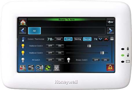 Home Automation Touch Pad