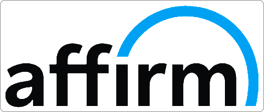 We accept Affirm financing